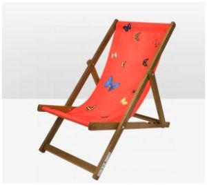 deck chair by damien hirst